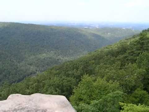 Overlook at Coopers Rock State Forest, West Virginia