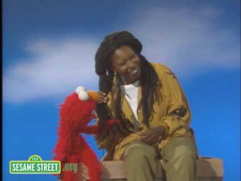 Sesame Street: Whoopi's Skin and Elmo's Fur