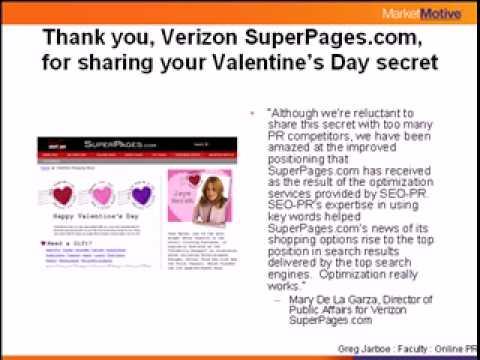 Online Publicity - SuperPages.com Case Study