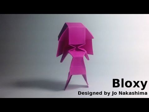 Origami Little Girl - Bloxy (Jo Nakashima)