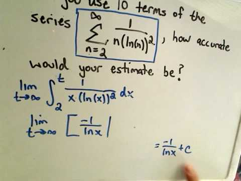 Remainder Estimate for the Integral Test