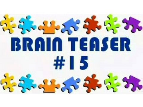 Video Brain Teaser #15