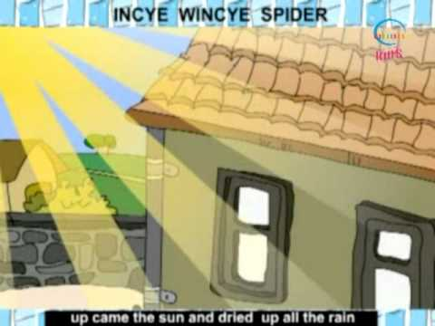 Rhymes and Alphabet - Incy Wincy Spider - Creative Learning for Kids