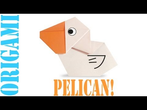 Origami Daily - 297: Pelican - TCGames [HD]