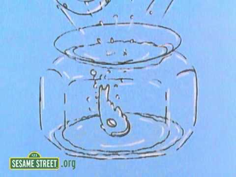 Sesame Street: Gold Fish in a Bowl