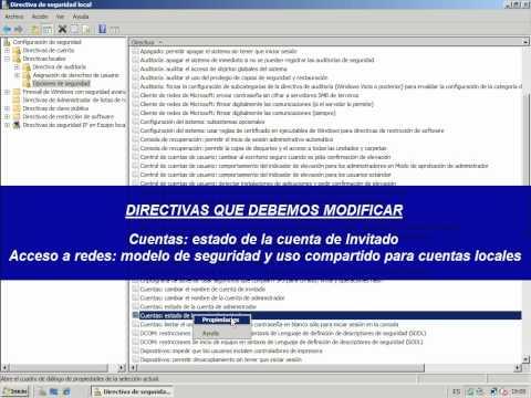 Windows Server 2008 - Taller 010 - Compartir recursos en un grupo de trabajo