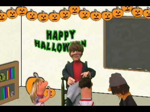 Vids4kids.tv Halloween Special - Creepy Things with Mr. Stitches