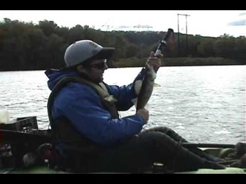 SusquehannaFishing.com Video Report 10-18-09 Shamokin Dam, PA