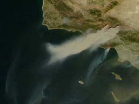 NASA Satellites Capture Images of Raging California Wildfire