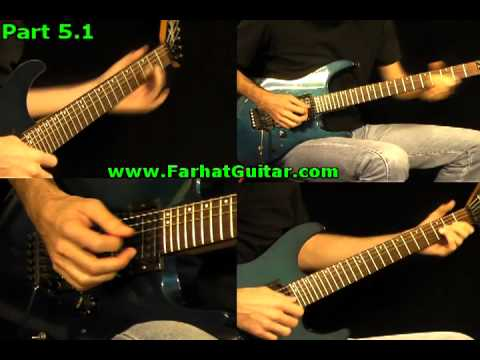The Trooper  Iron Maiden - Solo 2 www.FarhatGuitar.com