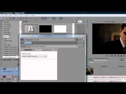 Sony Vegas Tutorial II Transition #2