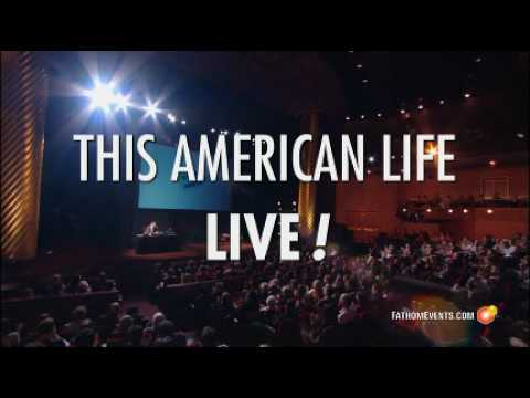 This American Life - Live 2009! trailer