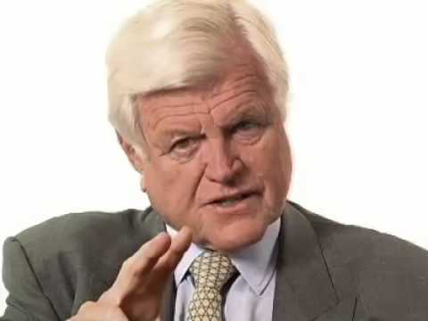 Ted Kennedy on America's biggest challenge