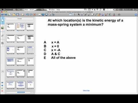 Simple Harmonic Motion Presentation #20
