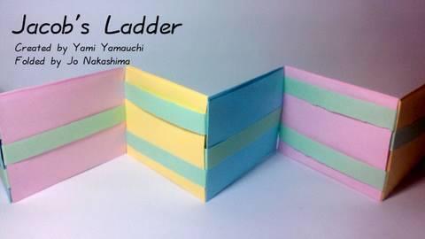 Origami Jacob's Ladder (Yami Yamauchi)