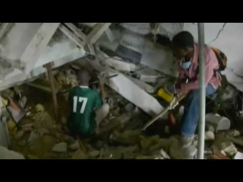 PBS NEWSHOUR | Sights and Sounds of the Haiti Disaster | PBS