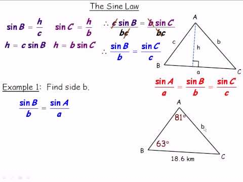 The Sine Law (Grade 10) Part 1.avi