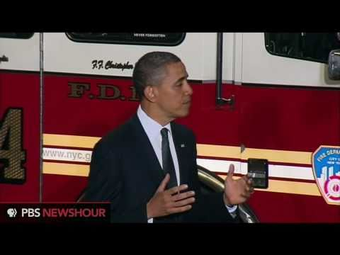 "Obama at Ground Zero: 'When We Say ""We Will Never Forget,"" We Mean What We Say'"