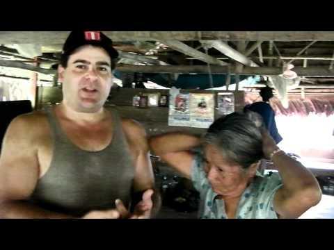 Visiting the Amazon shaman whom evicted my finger maggots