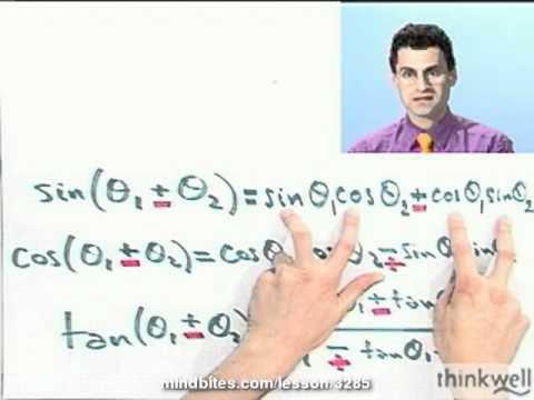 Trigonometry: Confirming a Double-Angle Identity