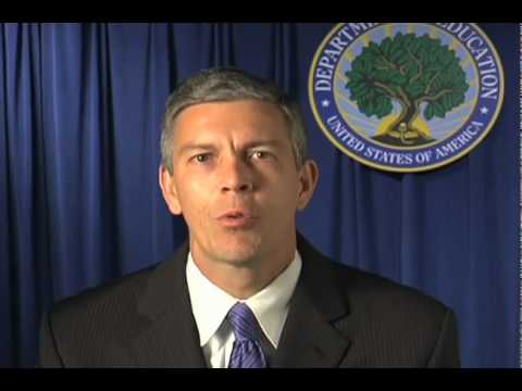 U.S. Department of Education Secretary's Welcome Message
