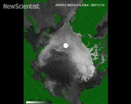 North Pole could be ice free in 2008