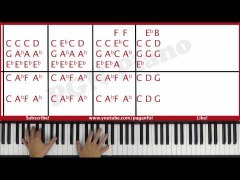 ♫ EASY - How To Play Skyfall Adele Piano Tutorial Lesson - PGN Piano