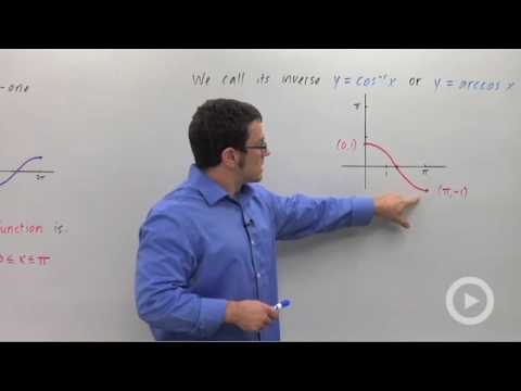Precalculus - The Inverse Cosine Function