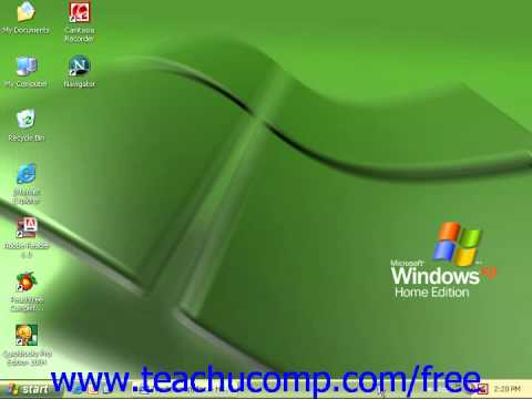 Windows XP Tutorial Dial Up Training Lesson 7.14