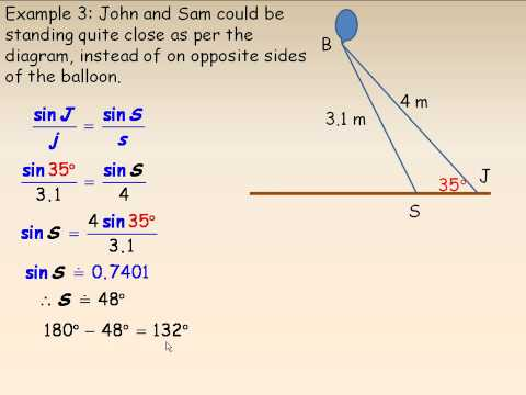The Sine Law Part 2