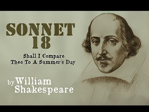 Pearls Of Wisdom - Sonnet 18 by William Shakespeare
