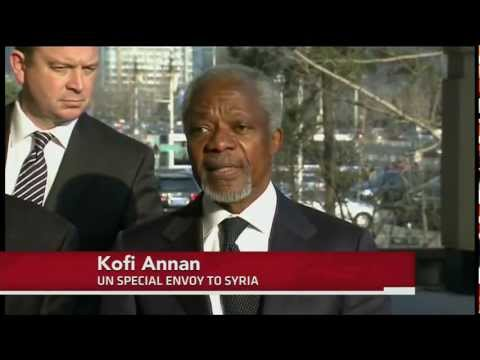 Syria Reportedly Accepts Annan's Peace Plan as Death Toll Hits 9,000