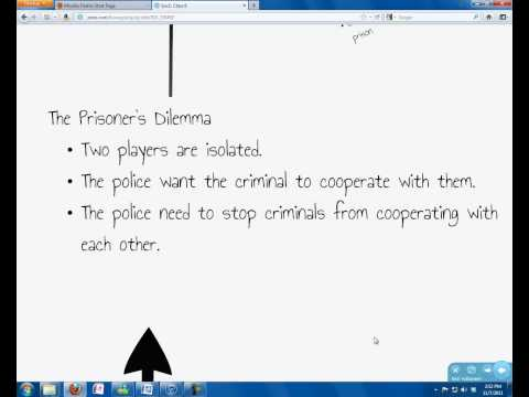Review and Prisoner's Dilemma