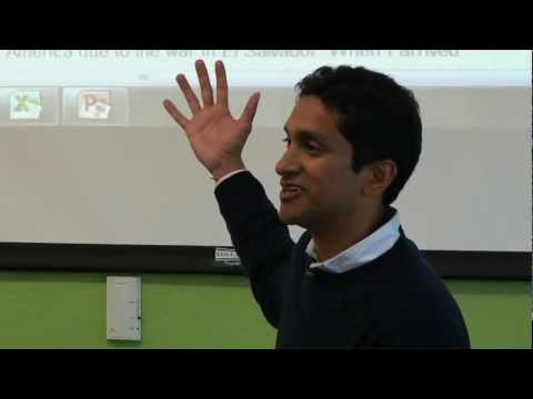 Premal Shah, President of Kiva, Talks at Google