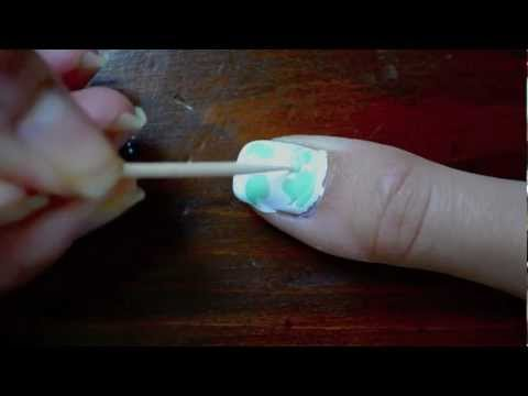 Tutorial: No Water Nail Marbling