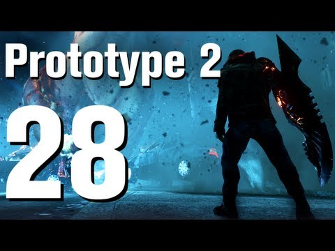 Prototype 2 Walkthrough Part 28 - Fall From Grace 2 of 2 [No Commentary / HD / Xbox 360]