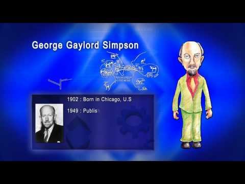 Top 100 Greatest Scientist in History For Kids(Preschool) - GEORGE GAYLORD SIMPSON