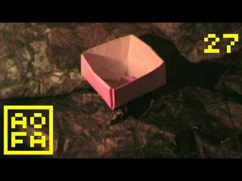 Origami Masu Box (Cave Edition) - ...and Origami for all - 27