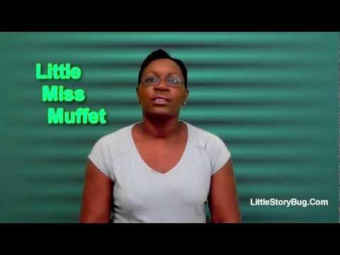 Preschool Activity- Little Miss Muffet - Littlestorybug
