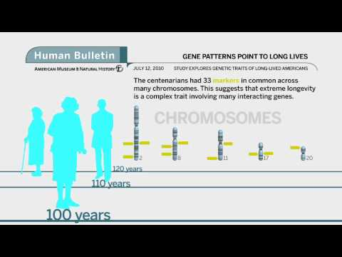 Science Bulletins: Gene Patterns Point to Long Lives