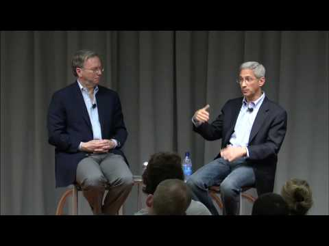 Steve Poizner speaks with Eric Schmidt