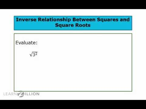 Solve problems with inverse of squares and square roots - 8.EE.2