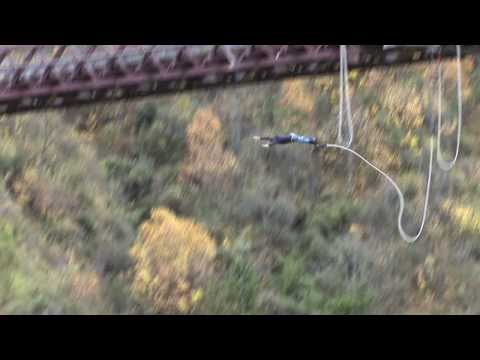 Option A - Acceleration of a Bungy Jump