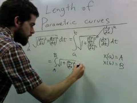 parametric arc length