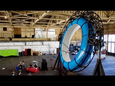 The Making of a Never-Ending Water Slide Simulator