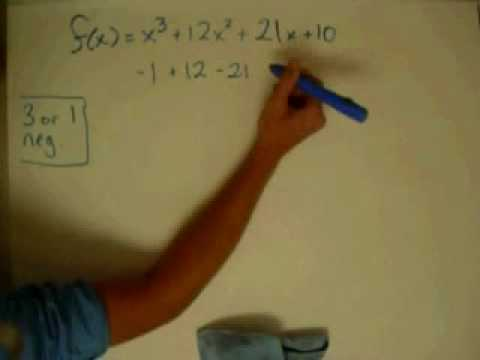 Polynomial Zeroes