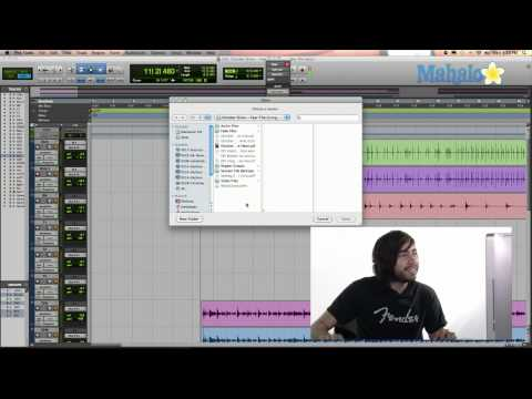 Opening Sessions - Pro Tools 9