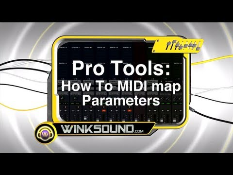 Pro Tools: How To MIDI Map Parameters in Battery 3