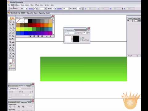 Vector Glassy Gel Button in Illustrator - Tutorial!