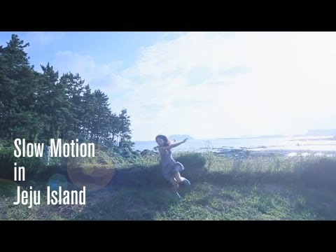 Slow Motion in Jeju Island